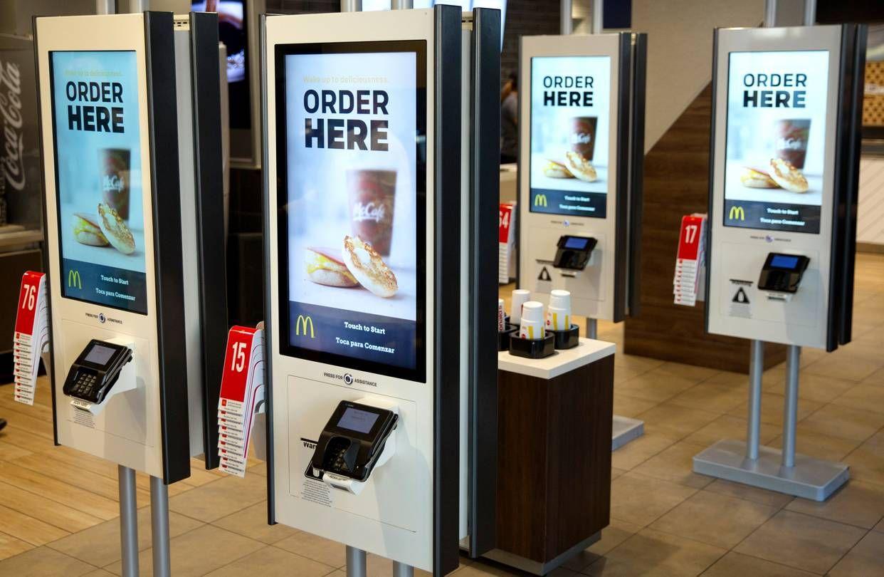 McDonald's SelfService Ordering Kiosk by ZIVELO