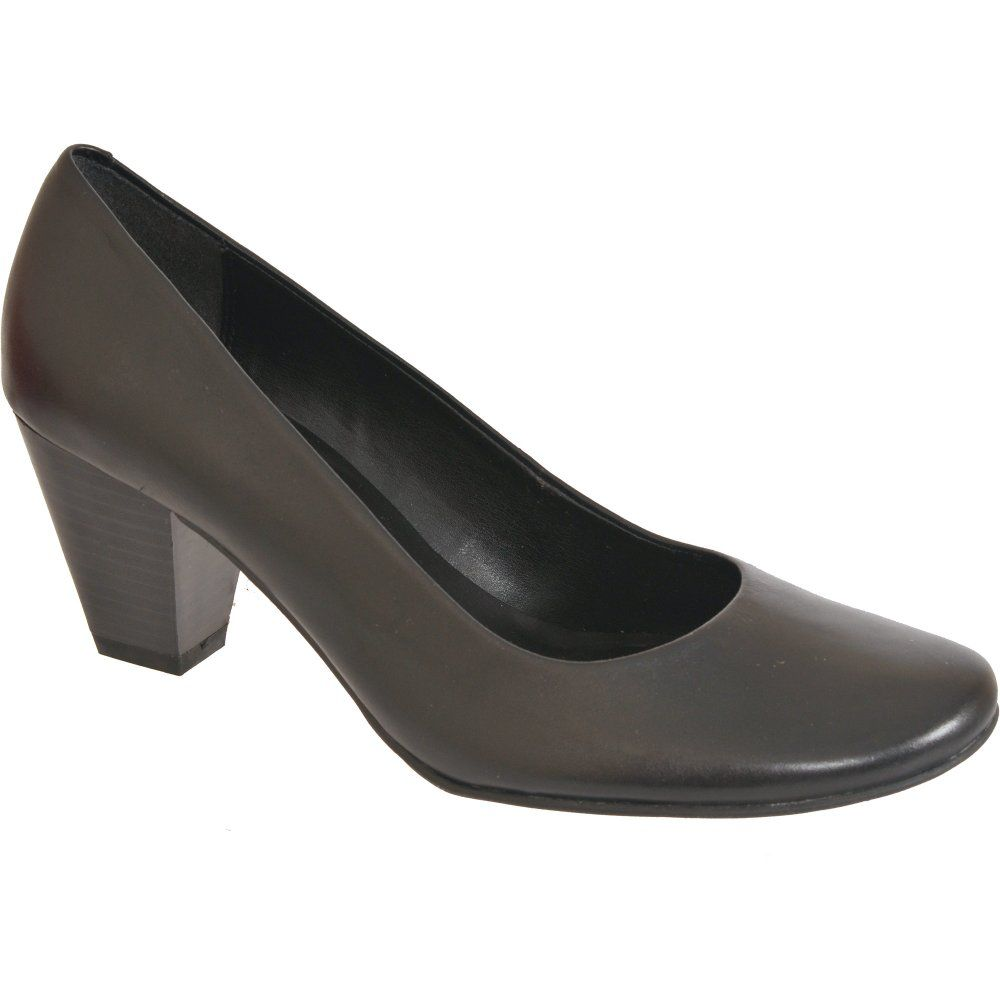 Clarks Cash Crop Ladies' Black Court Shoes | Clarks, Home and ...