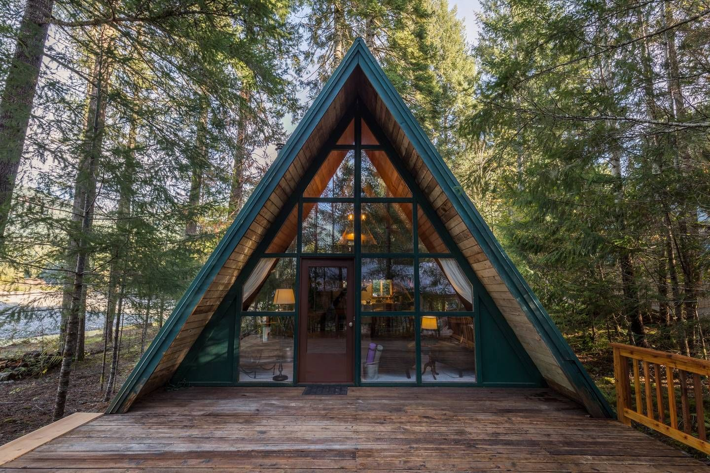 Cozy River Cabin At Mt Rainier Cabins For Rent In