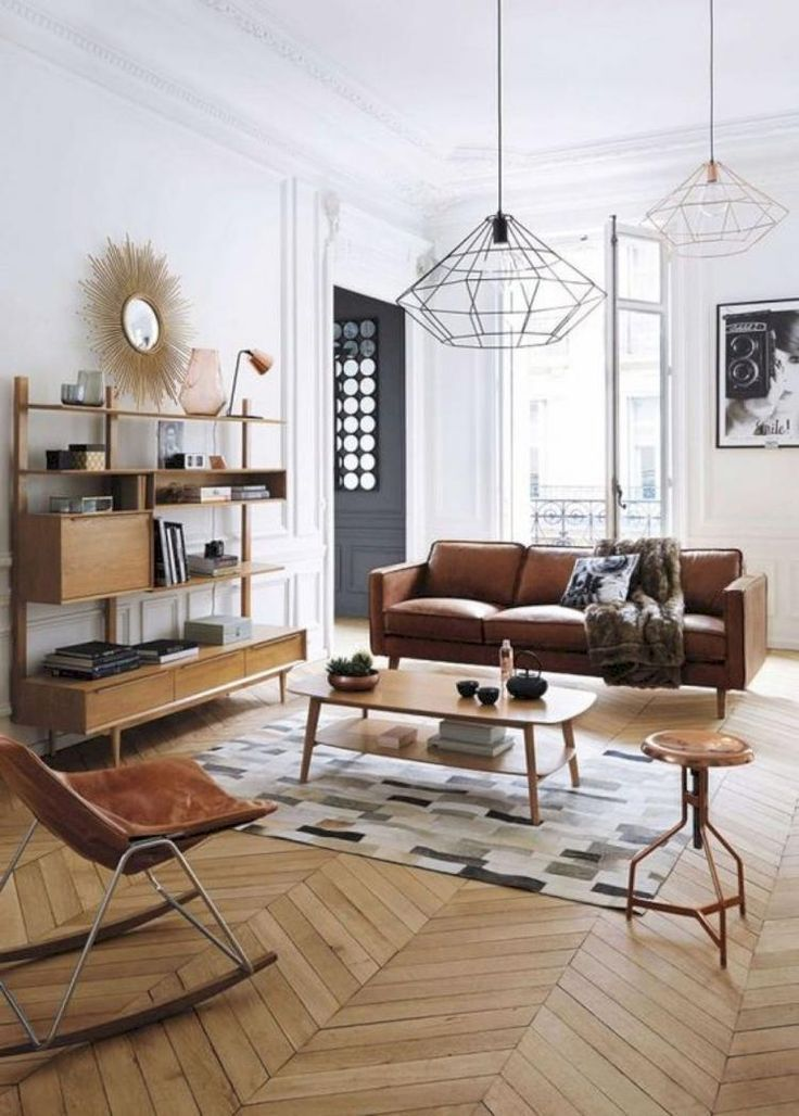 60 Awesome Mid Century Living Room Furniture Ideas Home Living Room Living Room Scandinavian Mid Century Modern Interiors