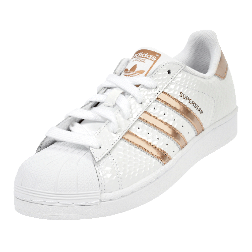 adidas superstar rose gold snake