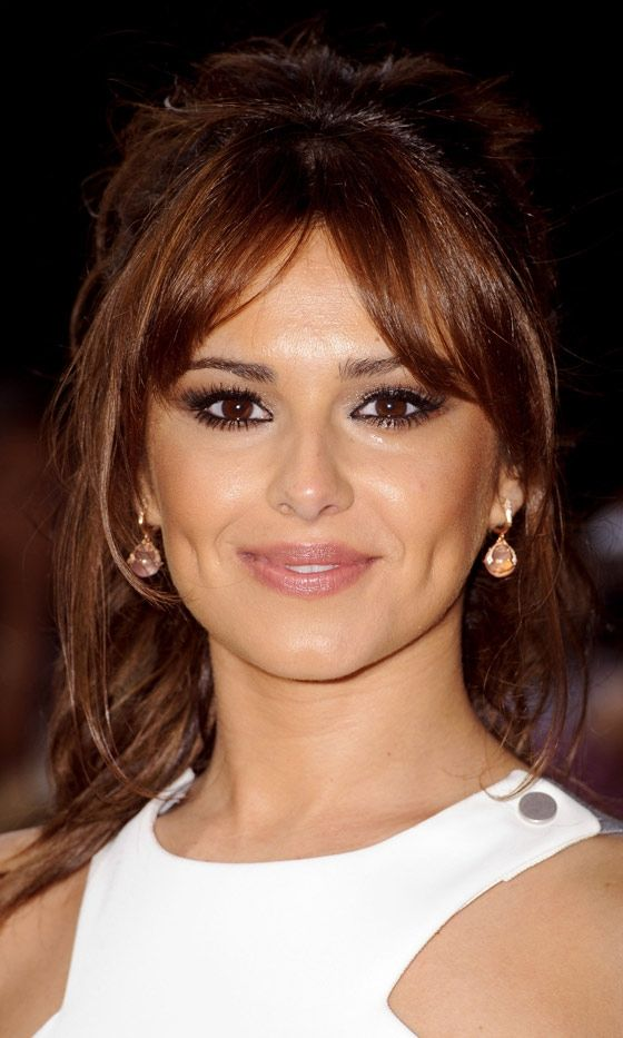 Cheryl Cole Parted Fringe Womens