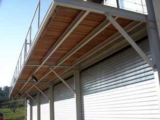 Ferronnerie D Art Fabrication De Mezzanine Plate Forme Metallique Terrasse Bois Terrasse Suspendue Terrasse