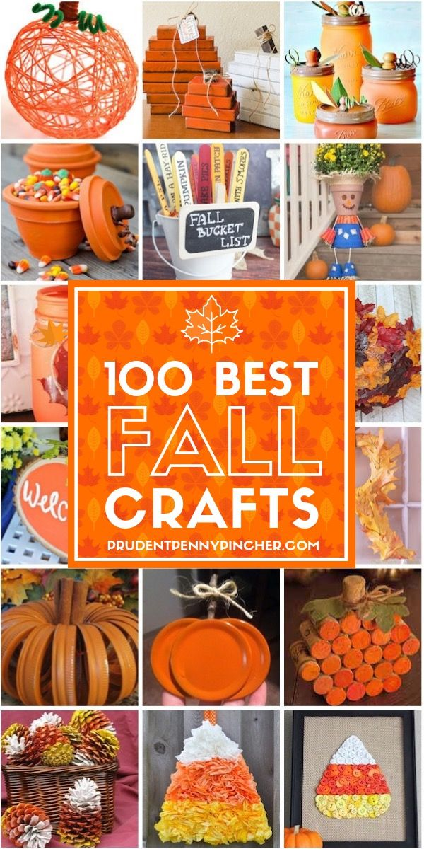 100 Best Fall Crafts for Adults #dollartreecrafts