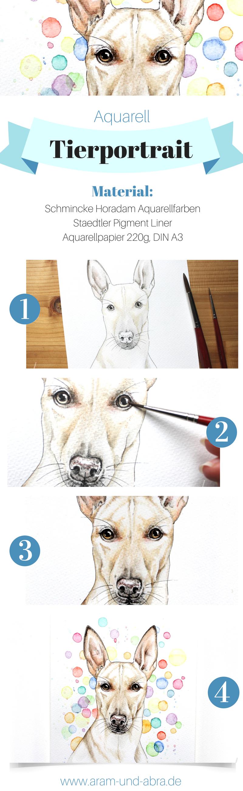 hund malen lassen auftragsarbeiten bei aram und abra hund malen podenco und portraits zeichnen. Black Bedroom Furniture Sets. Home Design Ideas