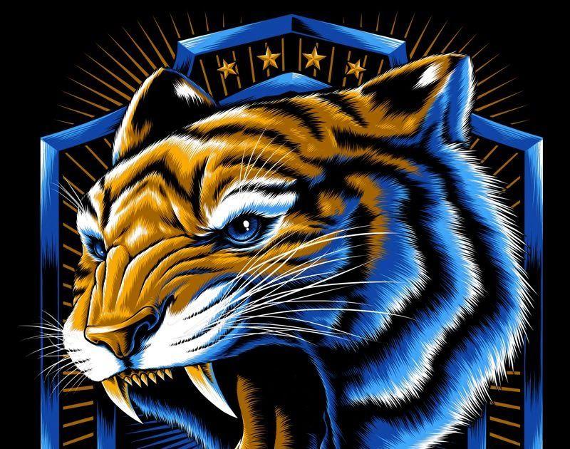 15 Lukisan 3d Gambar Paling Keren Di Dunia Incomparables X Tigres Uanl On Behance Binatang Buas Download 59 Gambar 3d Hewan Menggambar Kepala Gambar Hewan