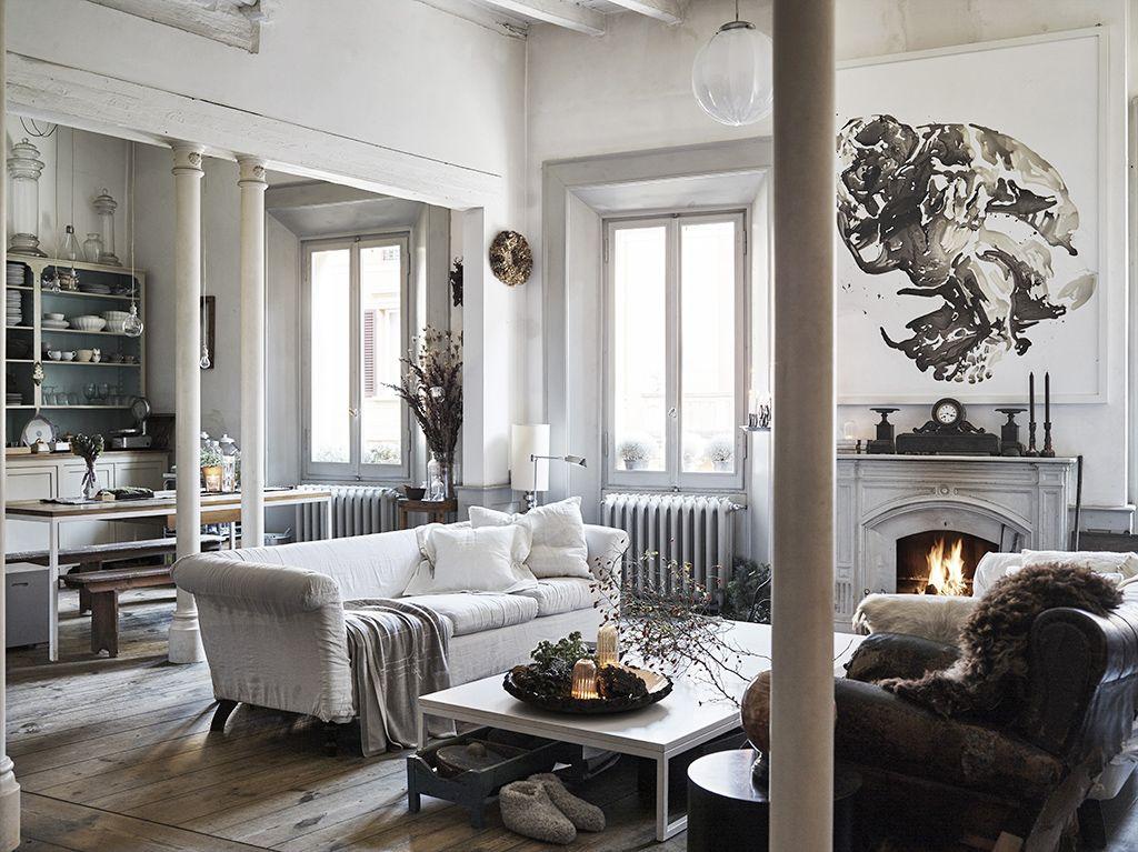 Open space: come dividere cucina e soggiorno | design | Pinterest ...