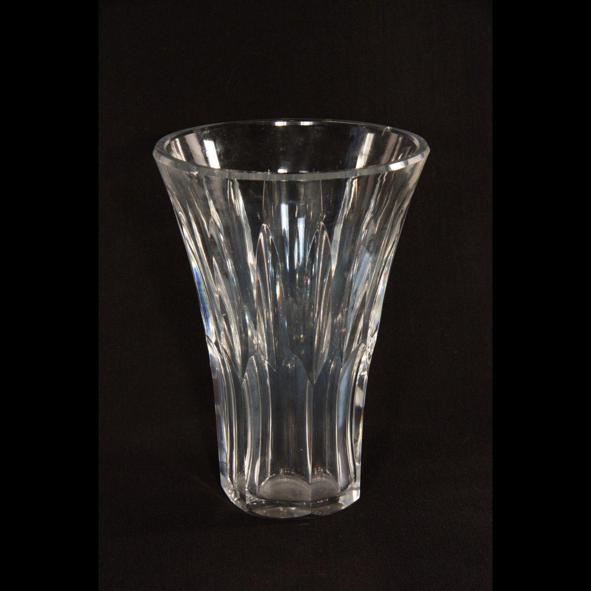 Jolie vase en cristal de baccarat fabriqu en france crystal jolie vase en cristal de baccarat fabriqu en france floridaeventfo Image collections