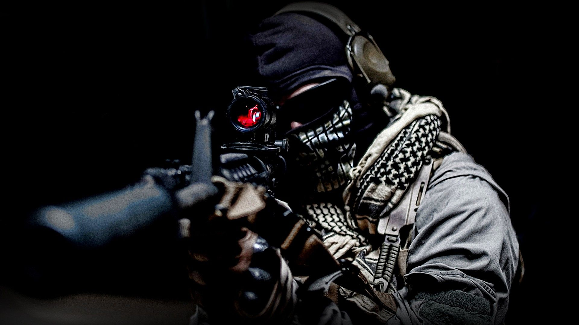 Call Of Duty Sniper One Call Of Duty Ghosts Military Wallpaper Call Of Duty