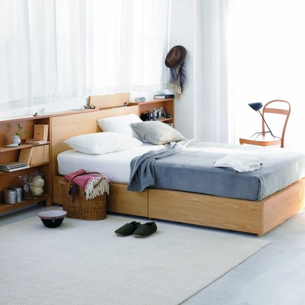 MUJI shelf + bed 無印良品の収納でお洒落に!おすすめ収納9つ