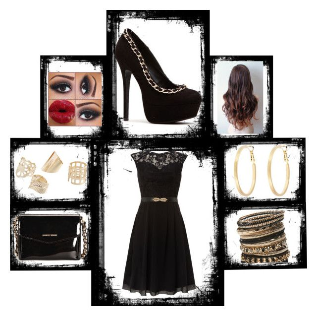 """""""Beauty In Black"""" by duaz on Polyvore"""