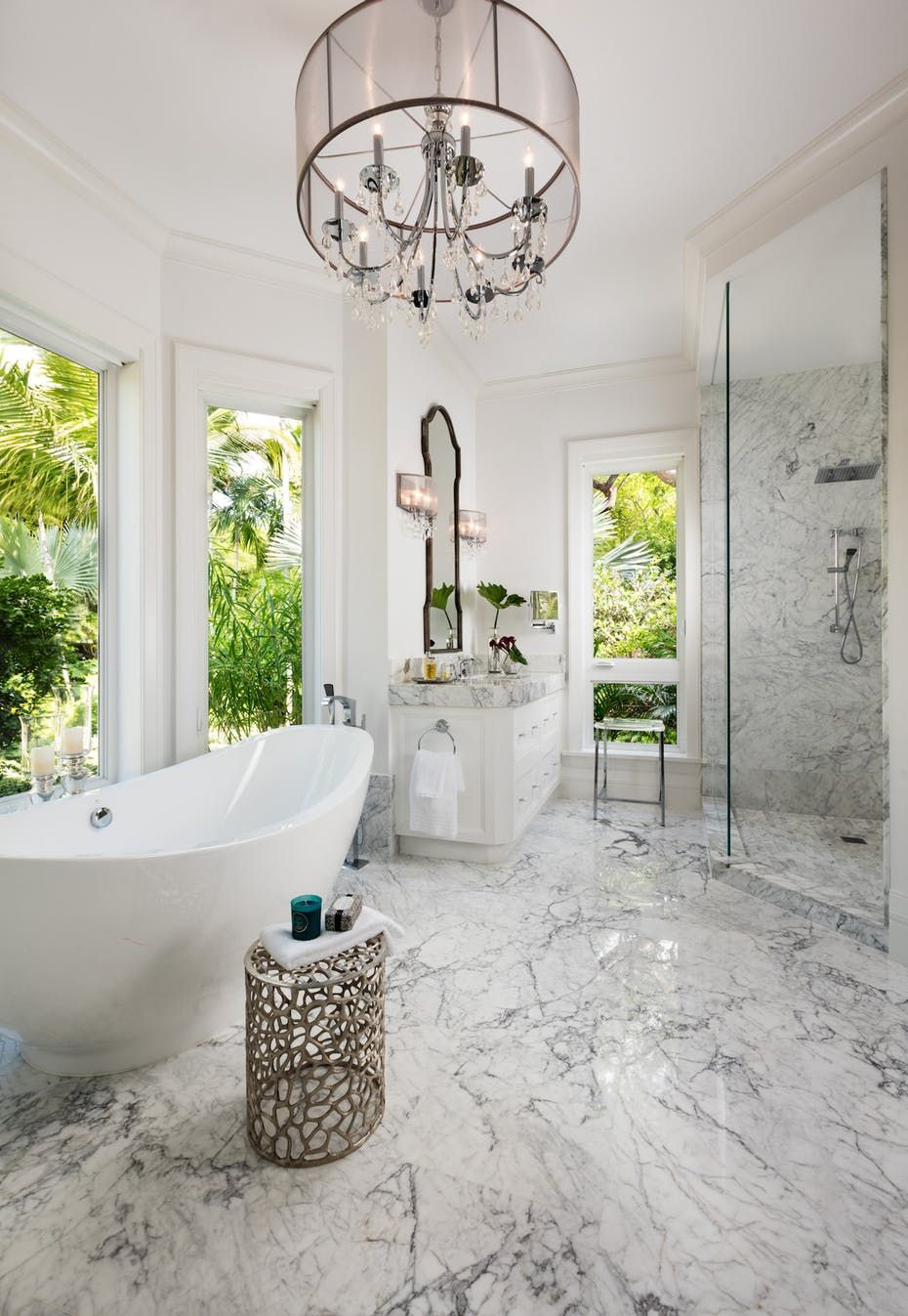The master bath is a high-style expression of luxury. | my boujee ...