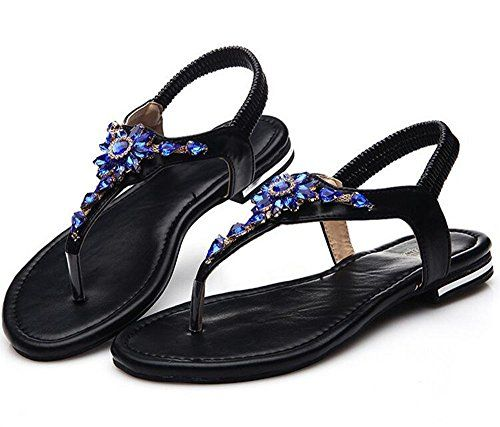 d8acc97e7 Jordan Novelty Shoes For Men special price Women Bohemia Sling Sandals  Flower Beads Yoga Flip Flop Flats Slingback Thong Shoes