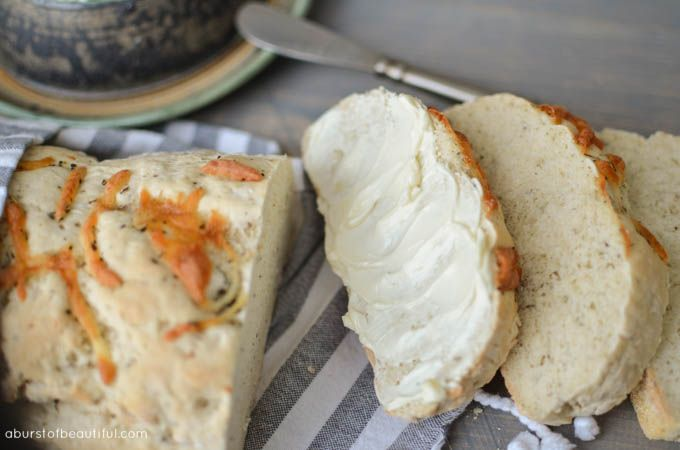 Simple French Bread - A Burst of Beautiful