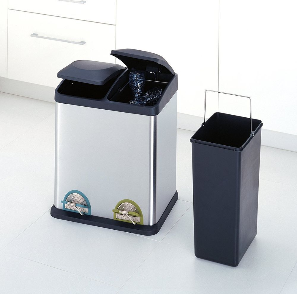 Small Recycling Bins For Kitchen - Kitchen Design Ideas