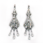 Erin Cole Earrings 057. @erin cole couture bridal