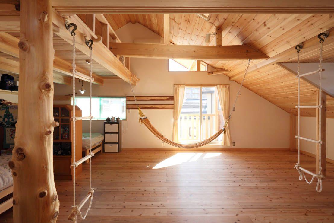 屋根裏部屋計画のポイント 自宅で 屋根裏 赤ちゃんの部屋のデザイン