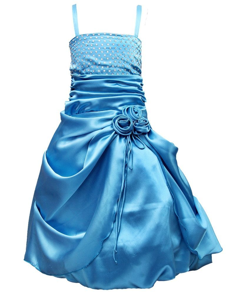 Light Blue Party Wear Gown for Girls (Christmas Discount Offer ...