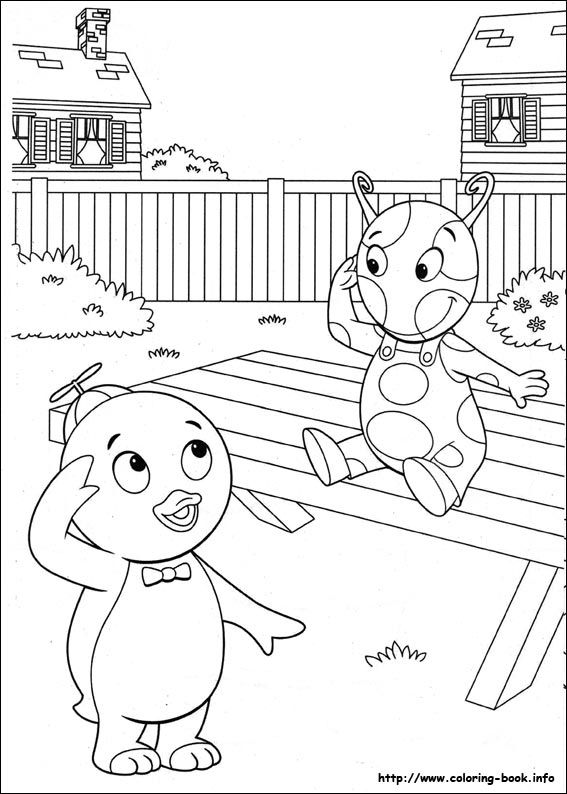 Backyardigans coloring picture   coloring pages   Pinterest ...