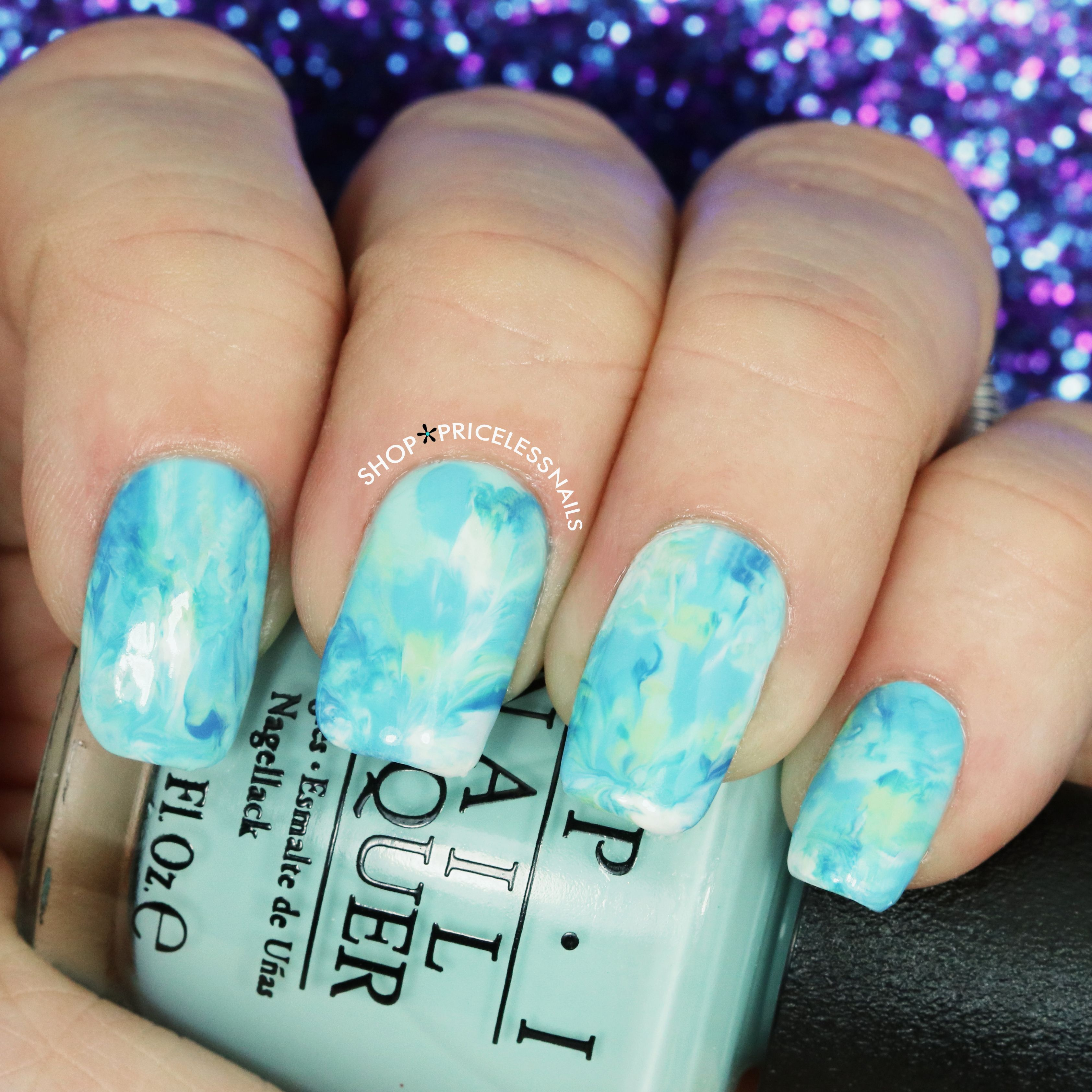 ✨ Splash into spring with these watercolor nails! ✨ | Nails ...