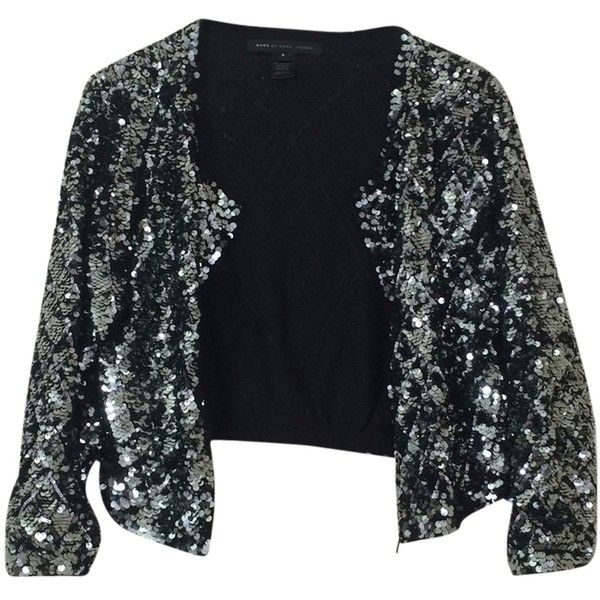 Pre-owned Marc By Marc Jacobs Sequin Sweater Cardigan ($124 ...