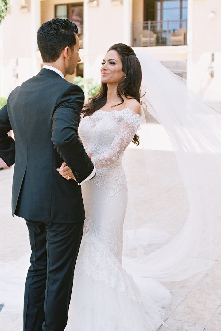 romantic and glam beverly hills wedding