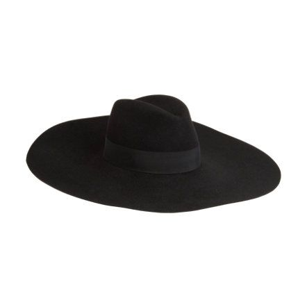 The witches are wearing this hat in the American Horror Story  Coven  trailer. Want! Saint Laurent Extra-Wide Brimmed Fedora at Barneys.com 18793a1626e