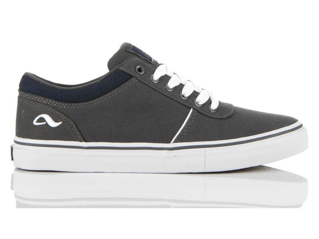 Adio Shoes  Smith CVS Skate Shoe Charcoal - White 710013-41K  55e2d028c