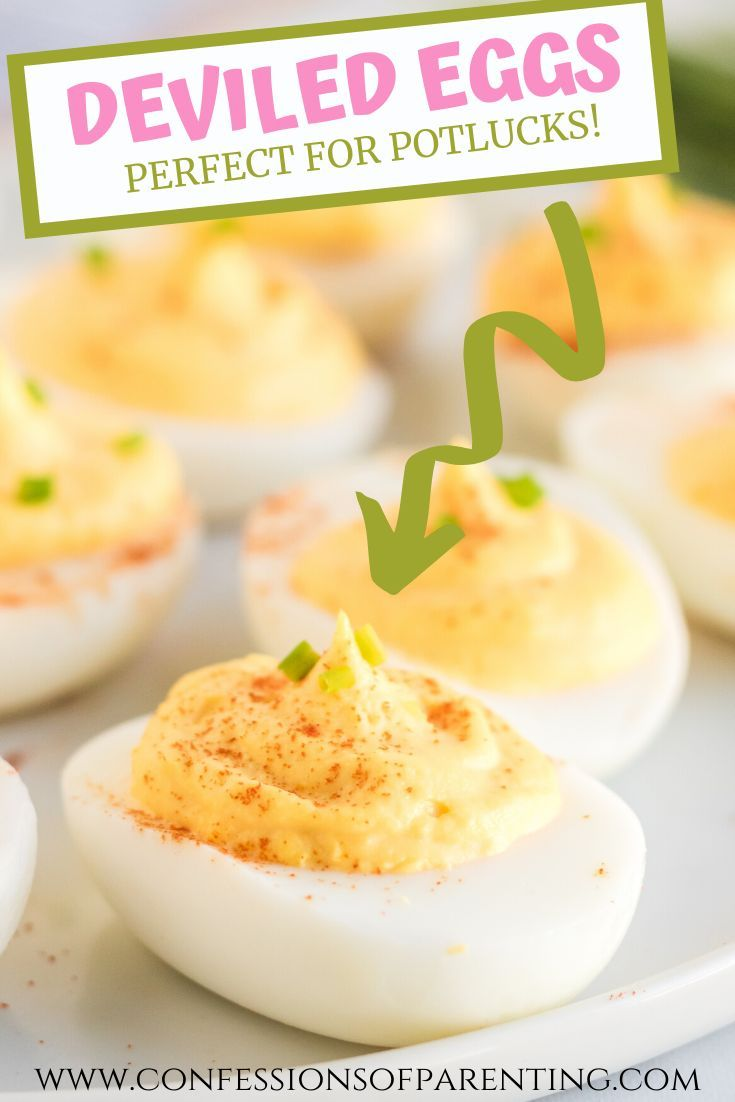 Classic Deviled Eggs - Confessions of Parenting