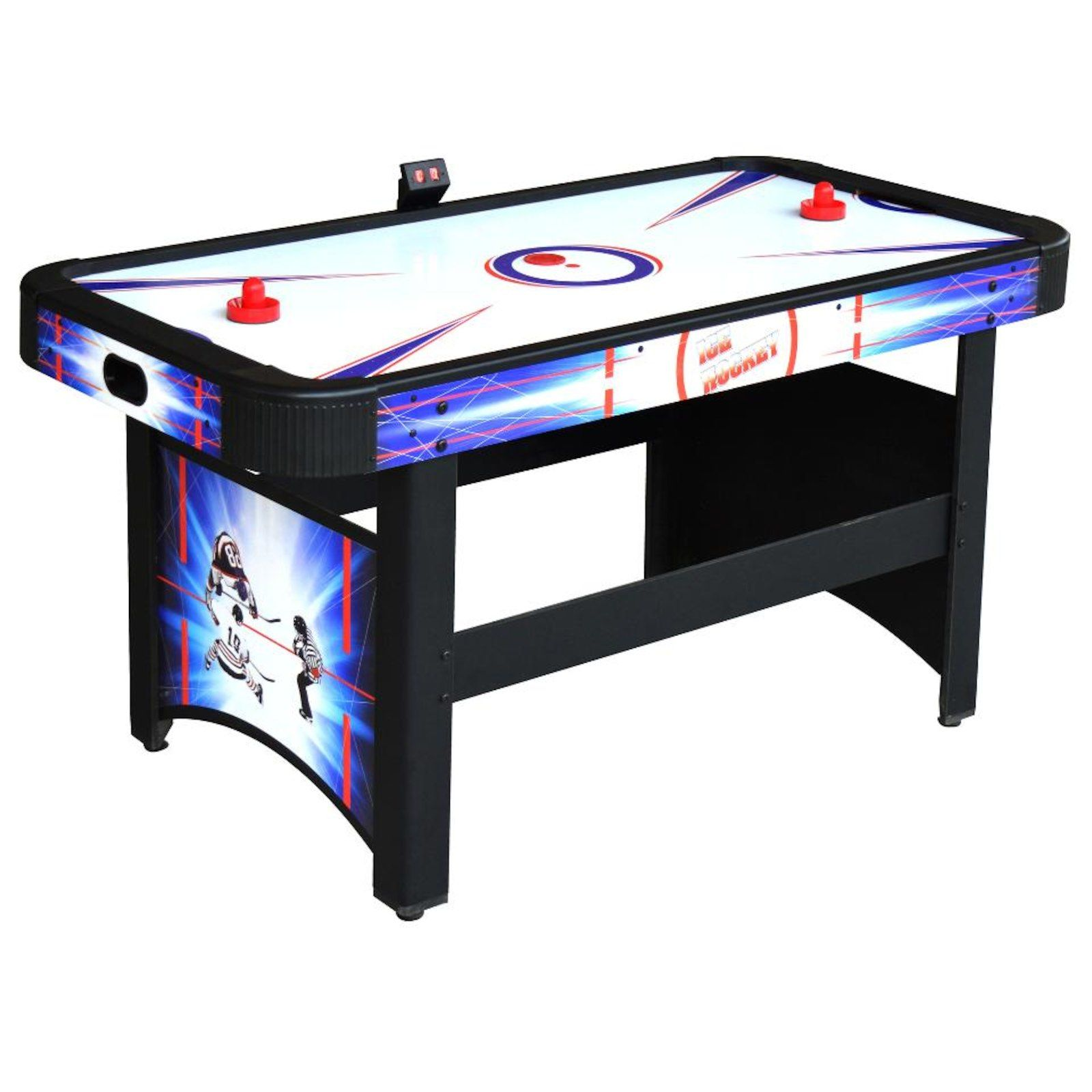 Blue Wave Products Patriot Air Hockey Table Air Hockey Table Air Hockey Rec Room