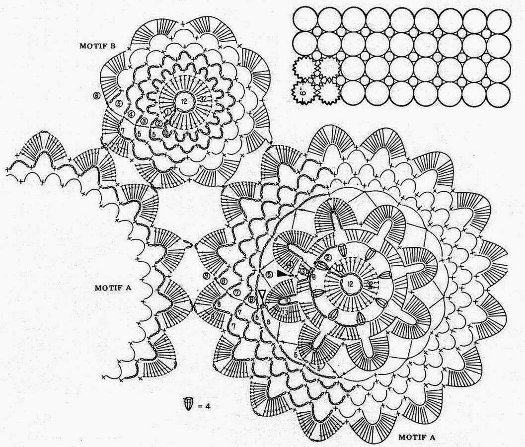 Pin von Antonella Monduzzi auf Crochet Dolies | Pinterest