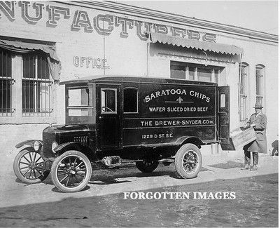 Ford Meat Packing Plant Delivery Van 1920s 8x10 Photo Print 1295
