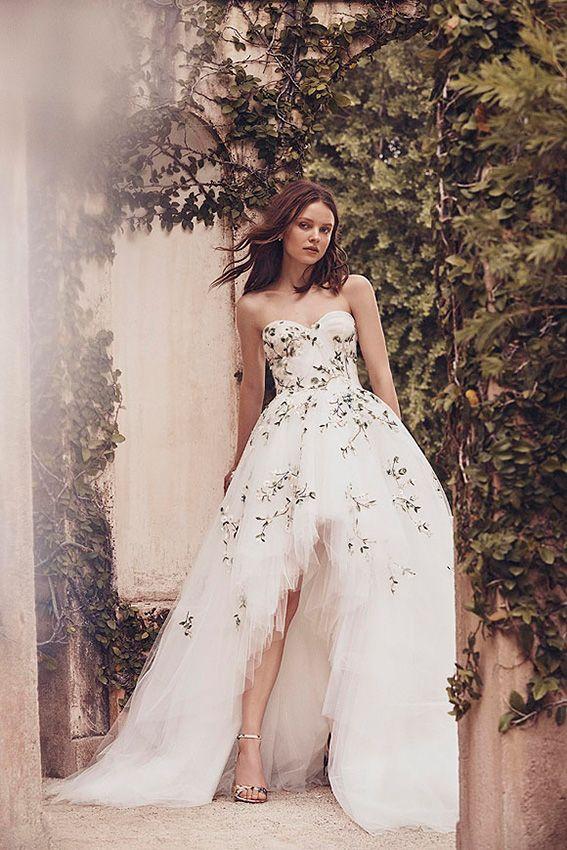 Vestidos de novia cortos con los que ser también la invitada perfecta
