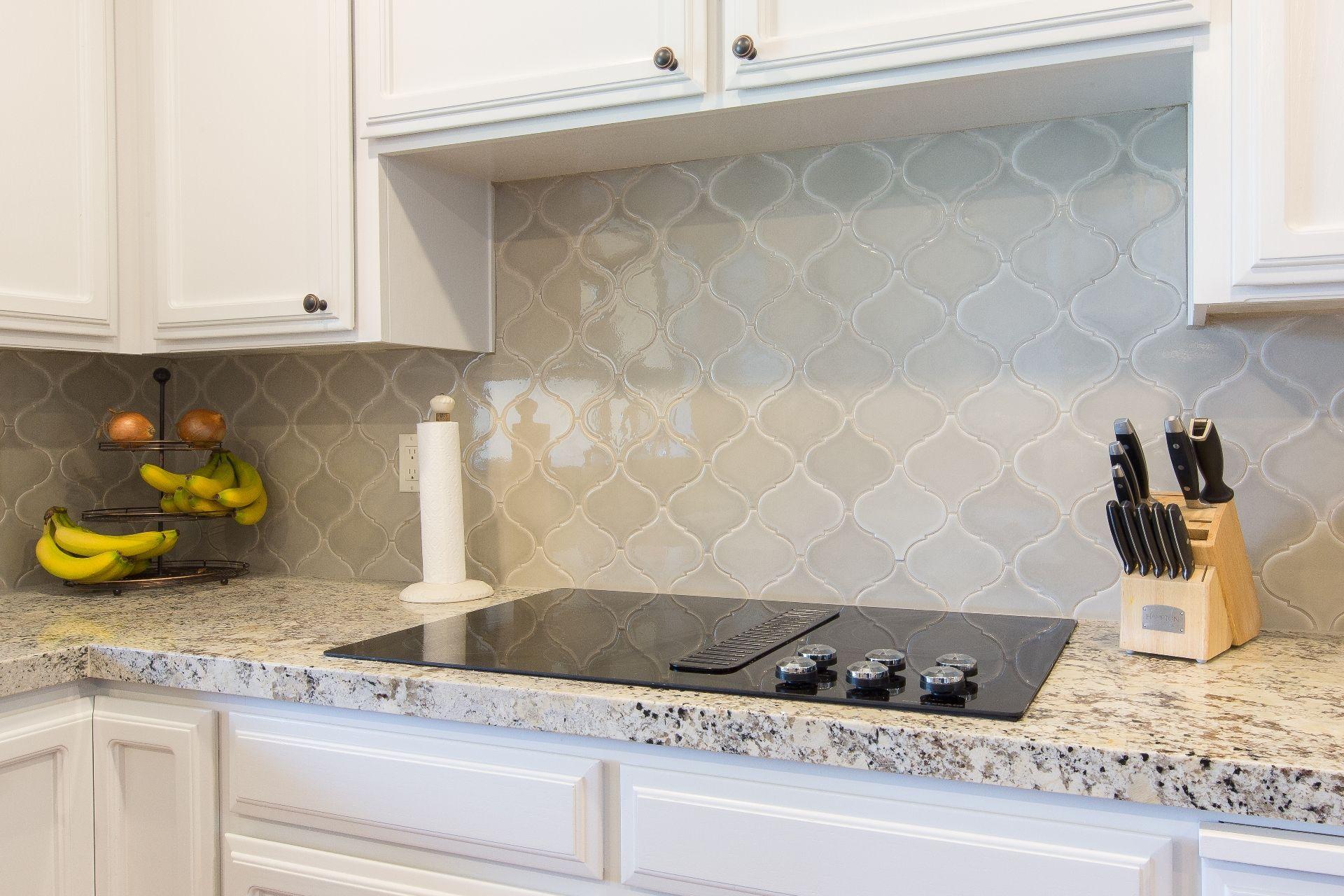Arabesque Backsplash At Home Depot Home Depot Backsplash Kitchen Backsplash Pictures Glass Tile Backsplash Kitchen
