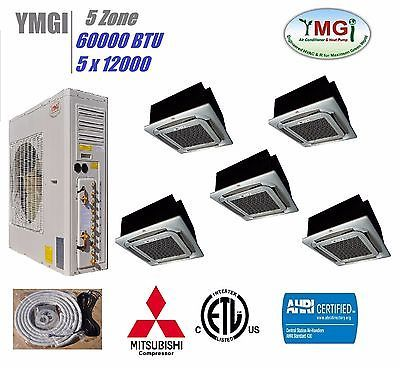 YMGI 60000 BTU 5(QUINT) ZONE DUCTLESS SPLIT AIR CONDITIONER