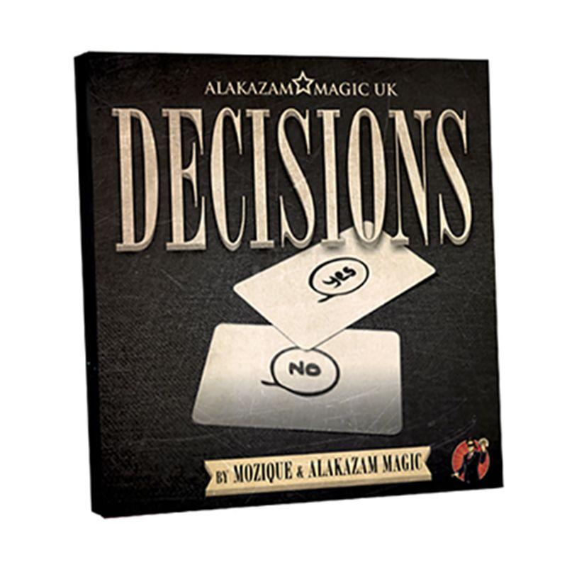 New Arrivals Decisions Gimmick Dvd By Mozique Mentalism Magic Trick Illusions Card Magic Close Up Com Magic Tricks Illusions Magic Card Tricks Close Up Magic