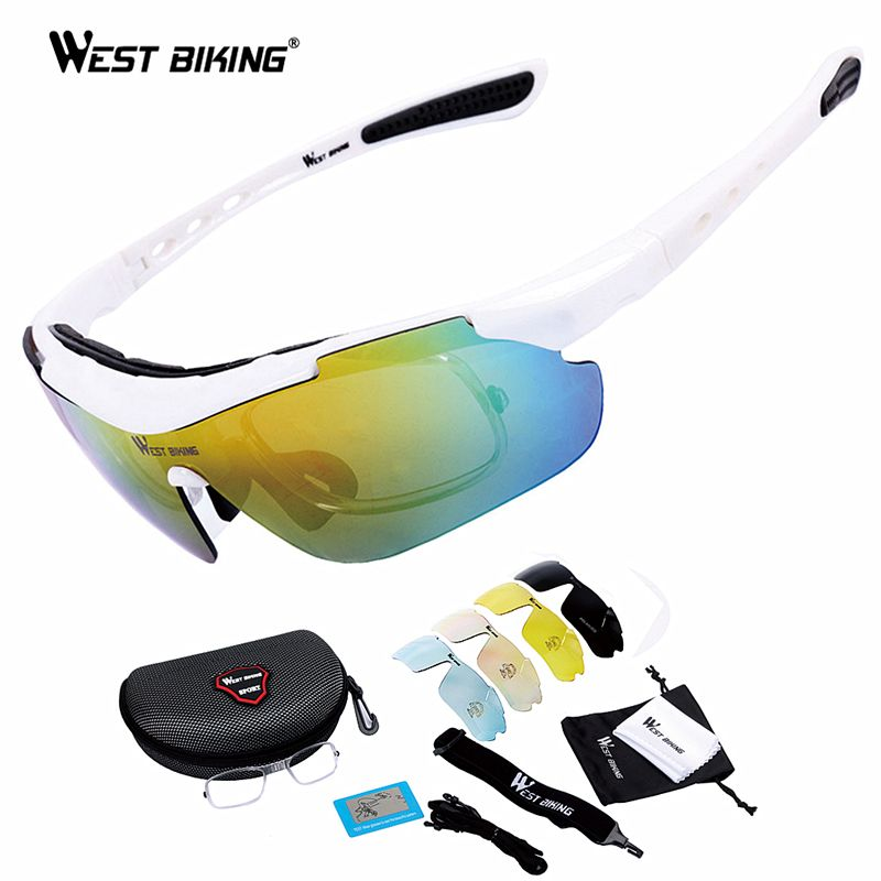 Cycling Glasses Polarized Rx Insert Myopia Frame Mountain Outdoors