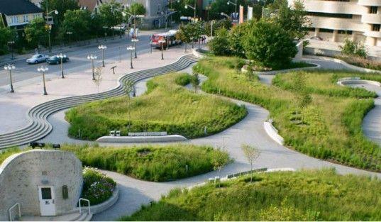 Canadian Museum of Civilizations Plaza, Claude Cormier Associes, landscape  architecture, green renovation, - Canadian Museum Of Civilizations Plaza, Claude Cormier Associes