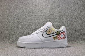reputable site d20c9 478f4 Womens Nike Air Force 1 Low Lunar New Year White Habanero Red AJ8298 100  Shoes Sportswear