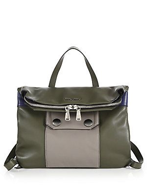 Miu Miu Small Multicolor Backpack   Bag it!   Pinterest   Miu miu ... 40ae52219b