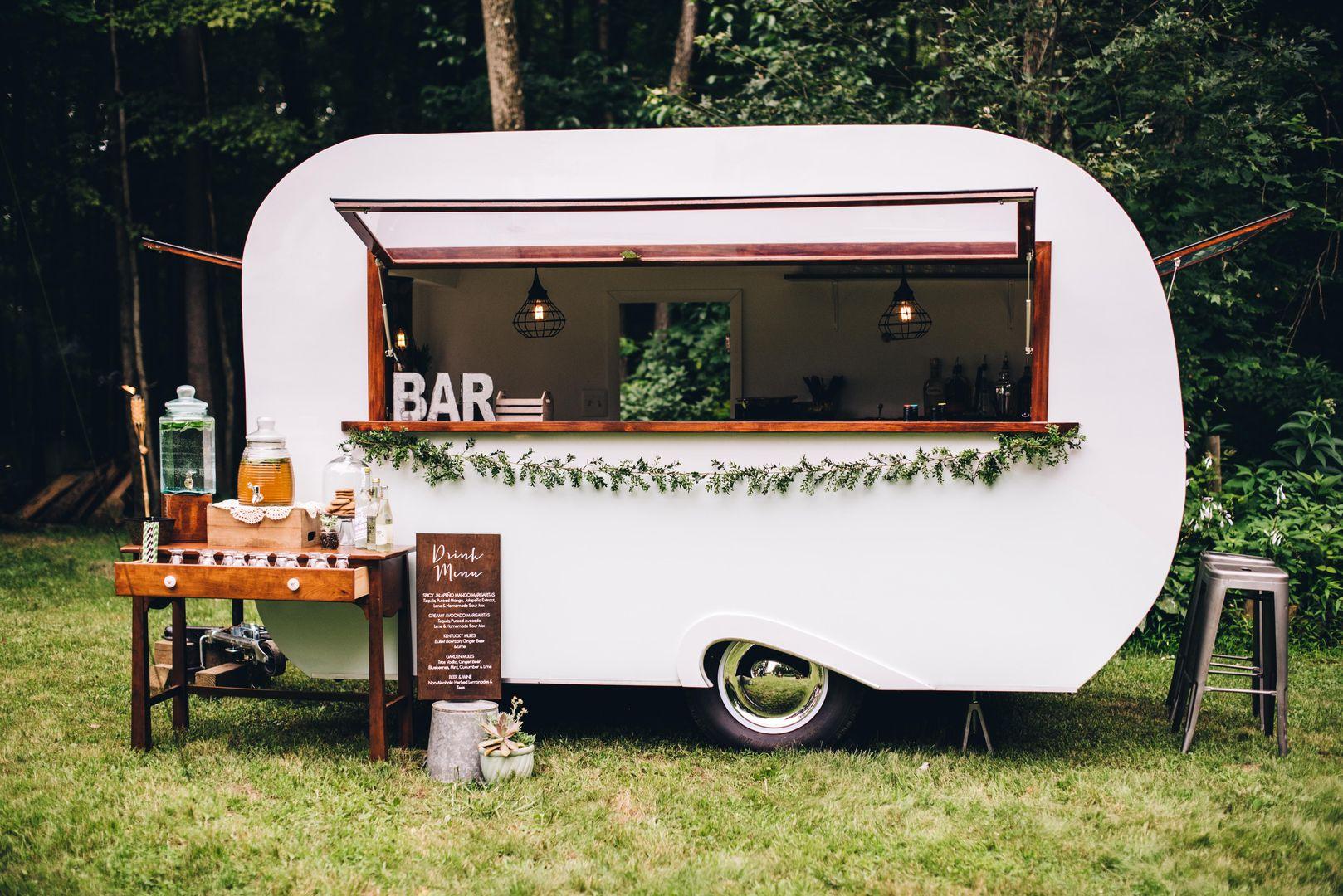Sweet Water Caravan Mobile coffee shop, Mobile cafe