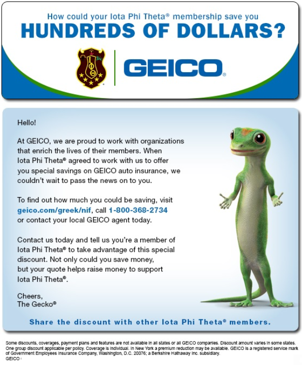 Did You Know Your Membership Gets You A Discount At Geico Take A