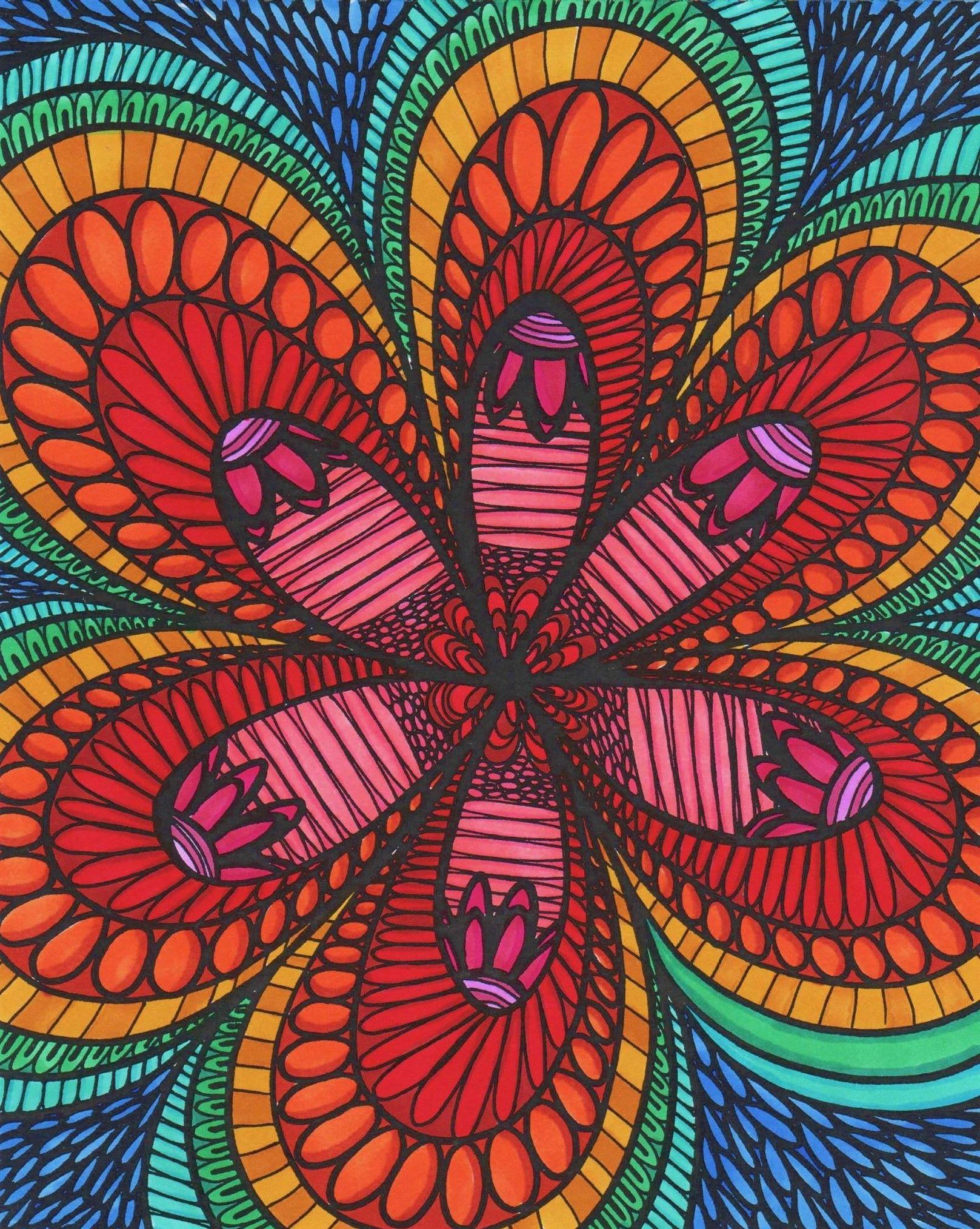 ColorIt Colorful Flowers Volume 1 Colorist: Lorrie Palmer ...