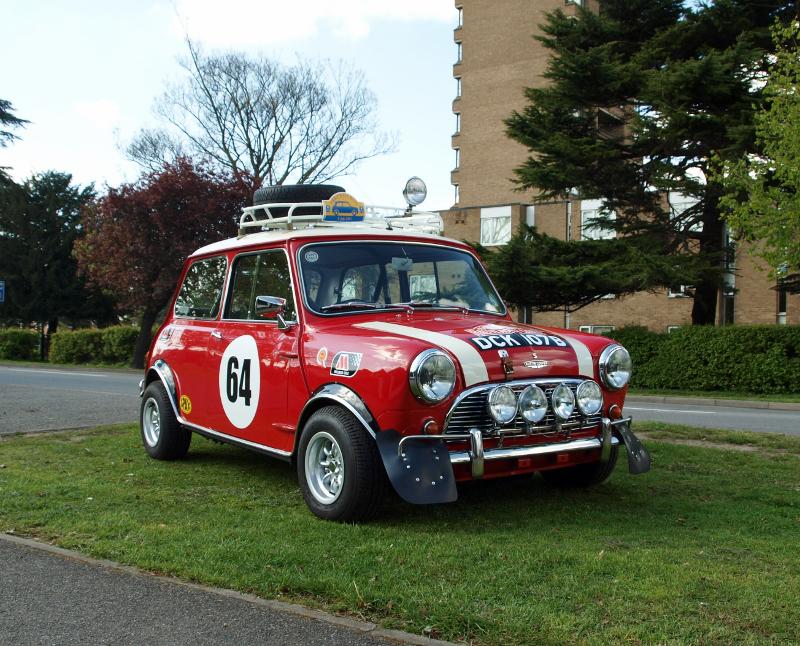 1969 Austin Mini 1000 Mk2 to Cooper S Monte Carlo Rally Spec ...
