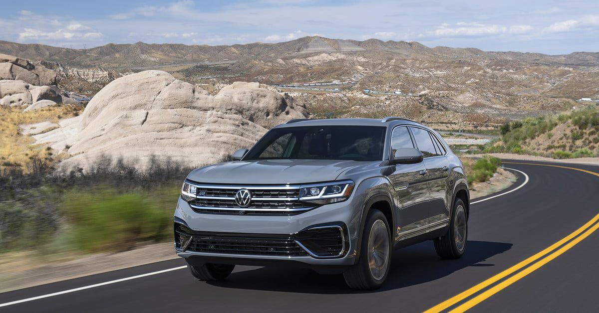 2020 Volkswagen Atlas Cross Sport Unveiled With New Driver
