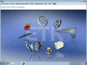 Online Catalog Etk For Bmw Electronic Spare Parts Catalogue