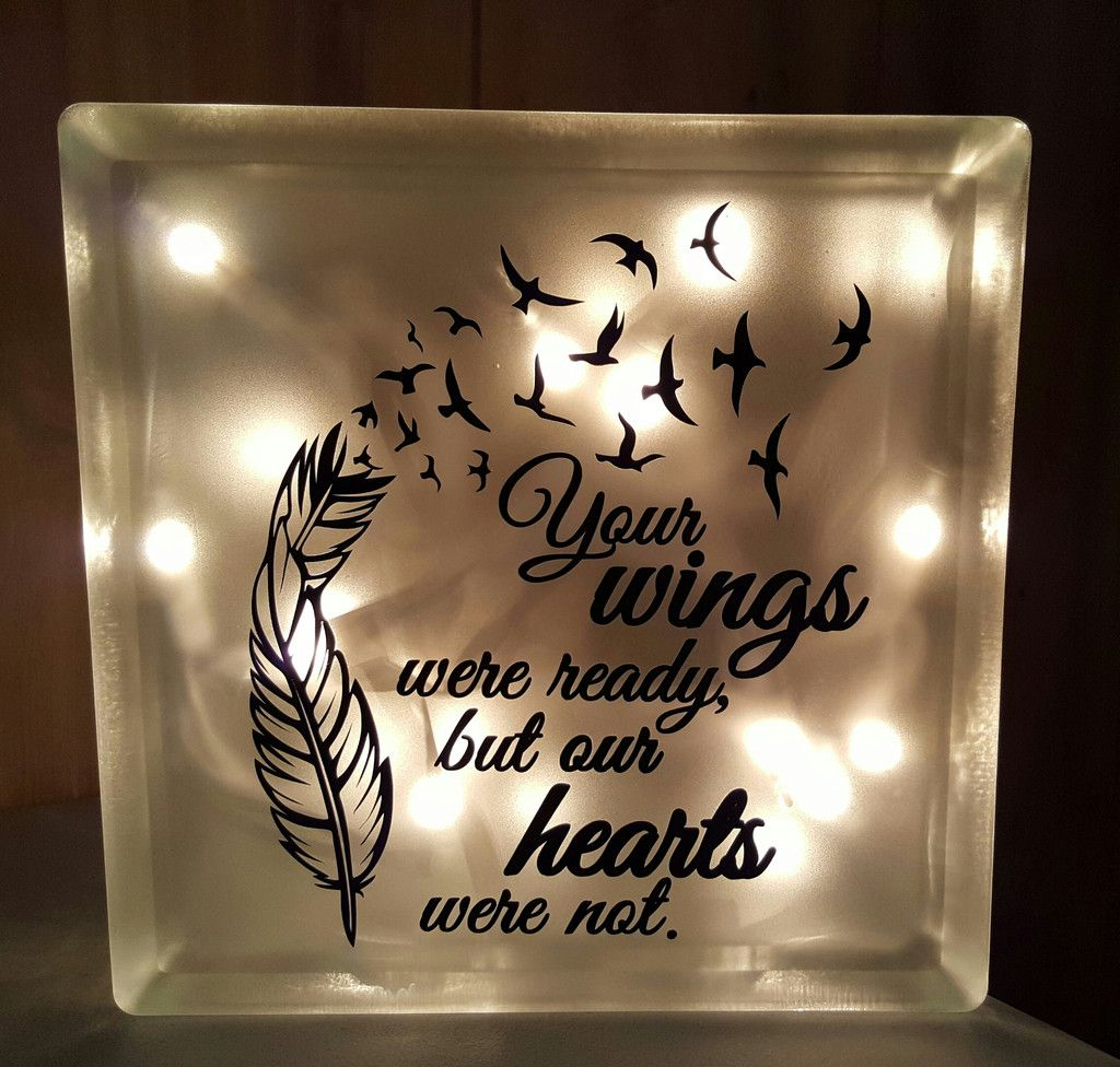 Your Wings Were Ready, But My Heart