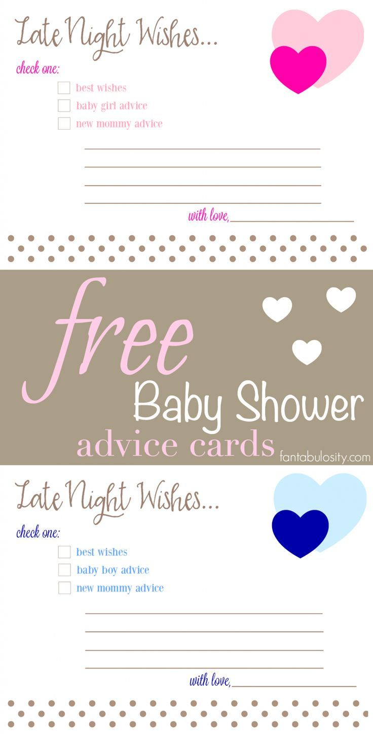 Free Printable Baby Shower Advice Best Wishes Cards Fantabulosity Baby Shower Advice Cards Baby Shower Advice Baby Shower Cards