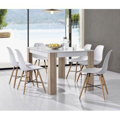 Mesa de comedor 6 sillas dise o de interiores for Diseno living comedor
