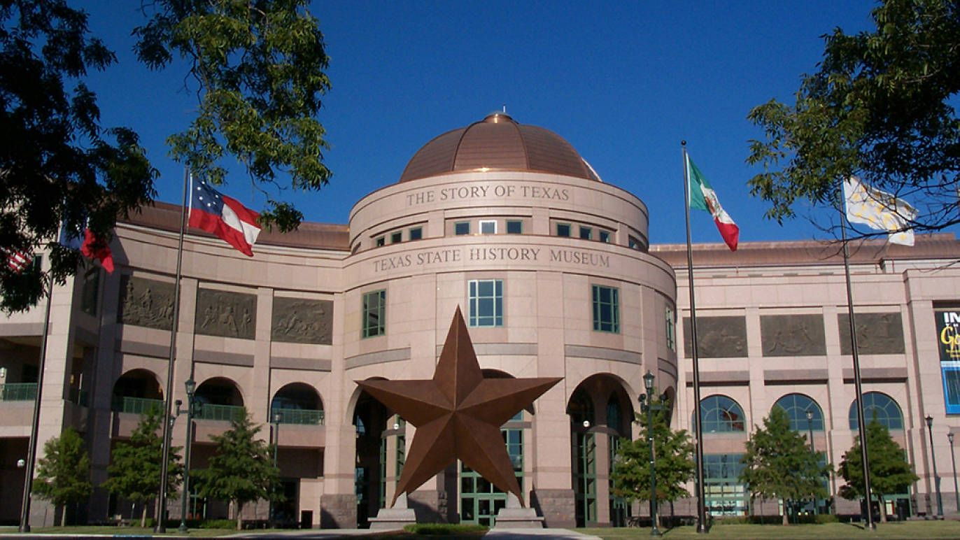 Bullock texas state history museum in 2020 texas state